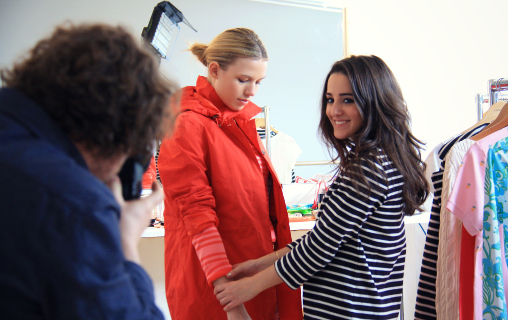Behind the scenes: Lands' End Stylist's Studio