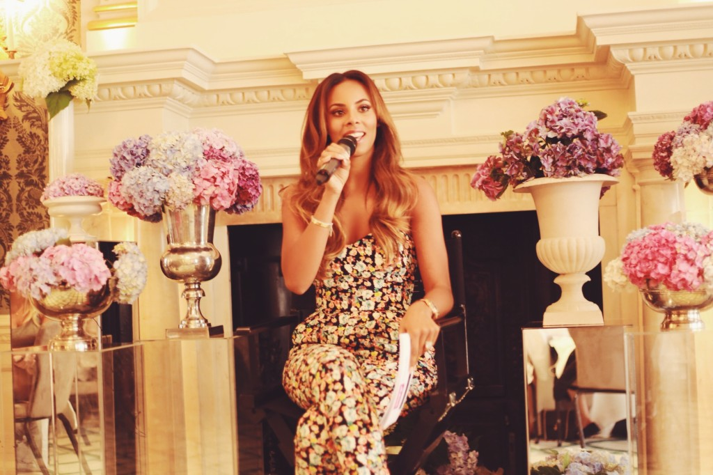 Rochelle Humes for Very.co.uk launch event