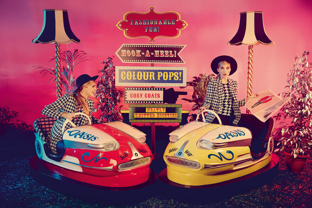 "Oasis ""All the the fun of the fair"" campaign & the launch of Snap Fashion"