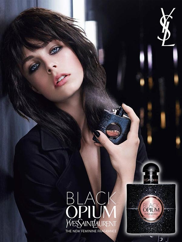 New YSL Black Opium launch event