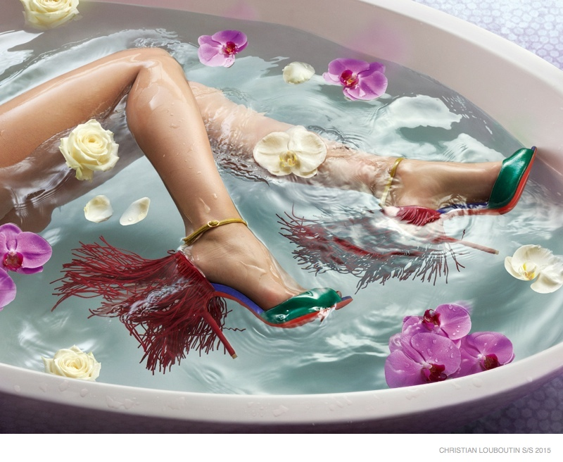 Water in love by Christian Louboutin