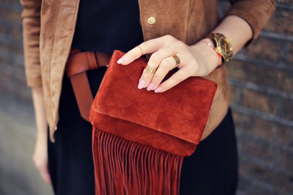 70's heroes: suede and fringing