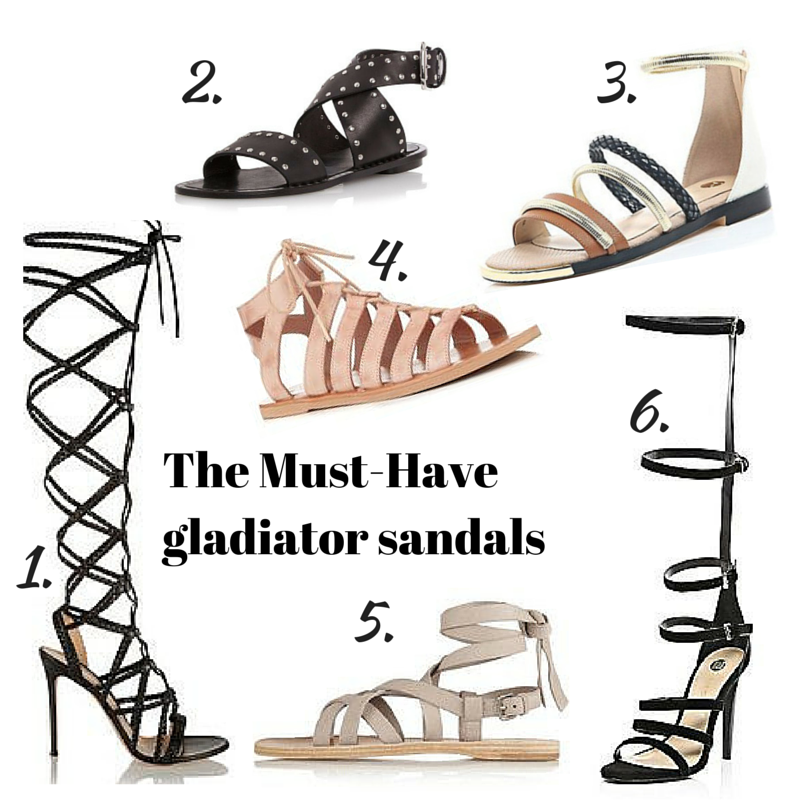 The must-have gladiator sandals