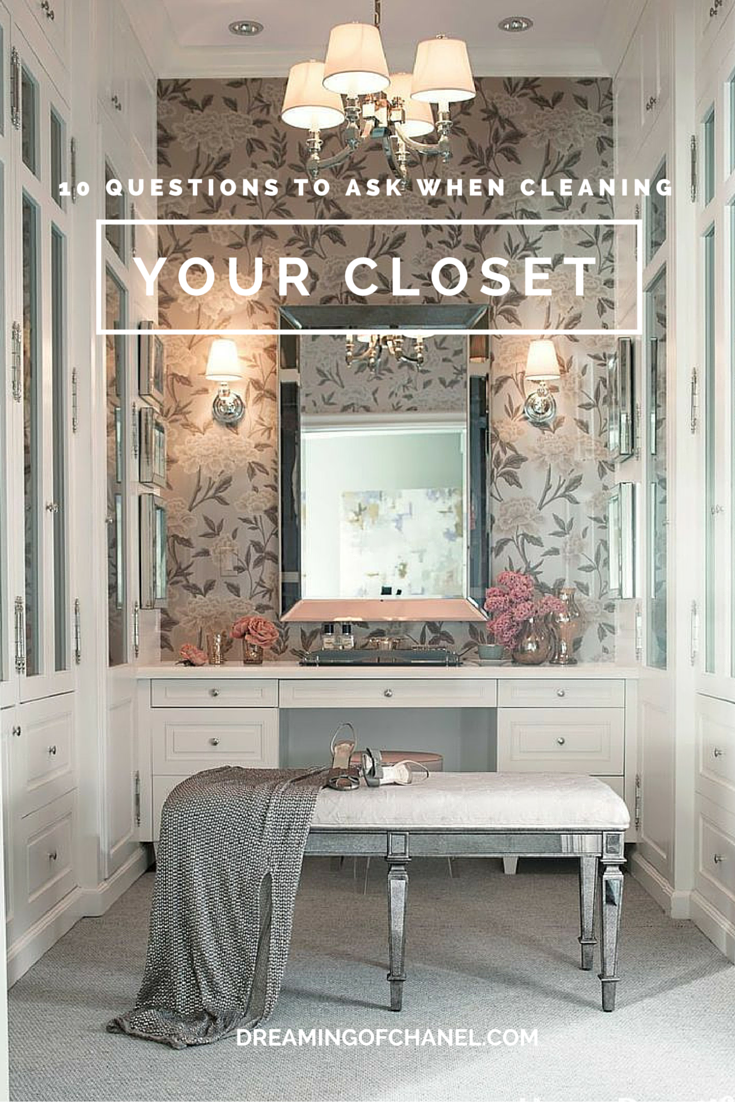 Top tips for cleaning your closet!