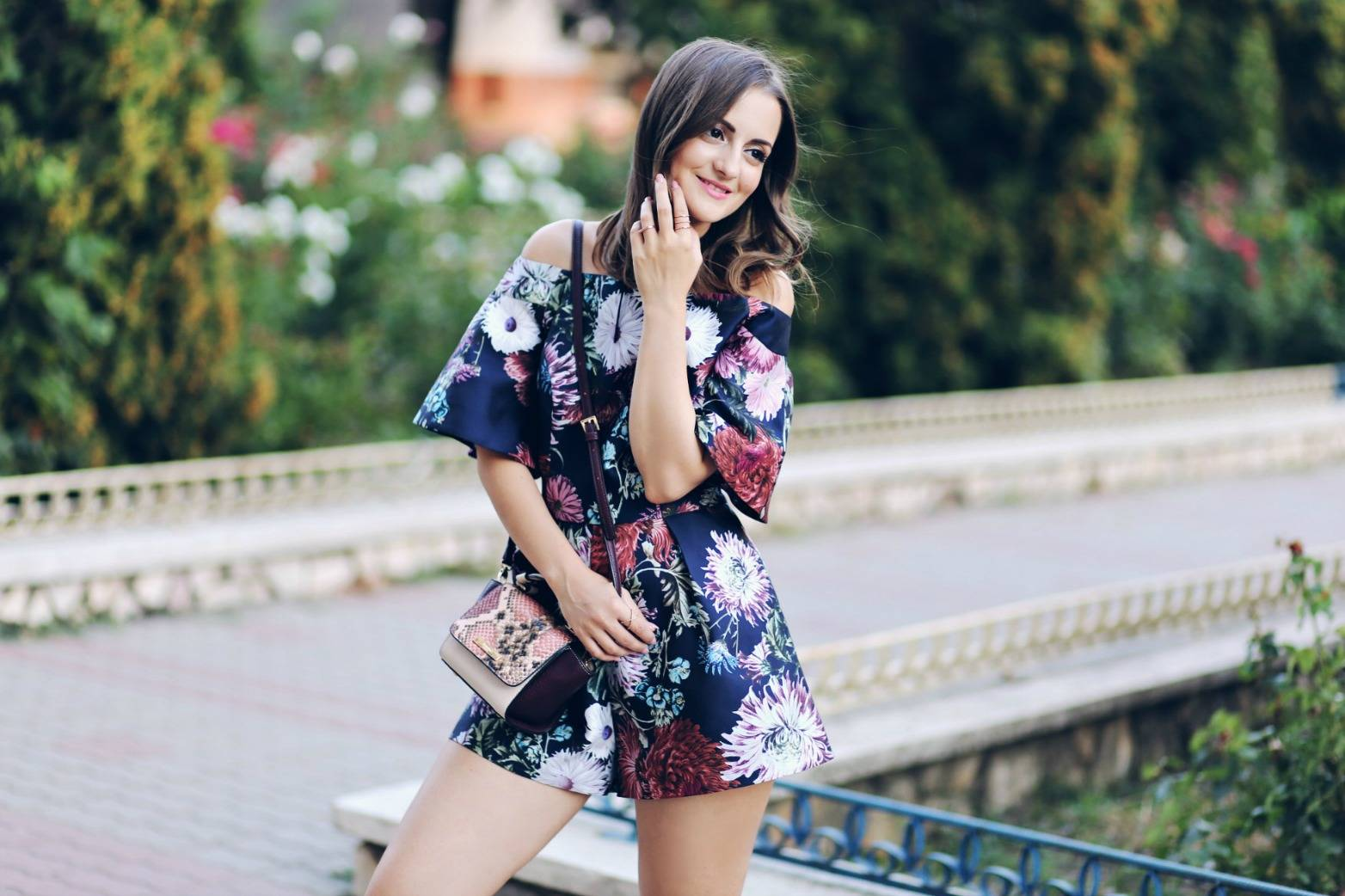 The floral playsuit you'll want to buy now