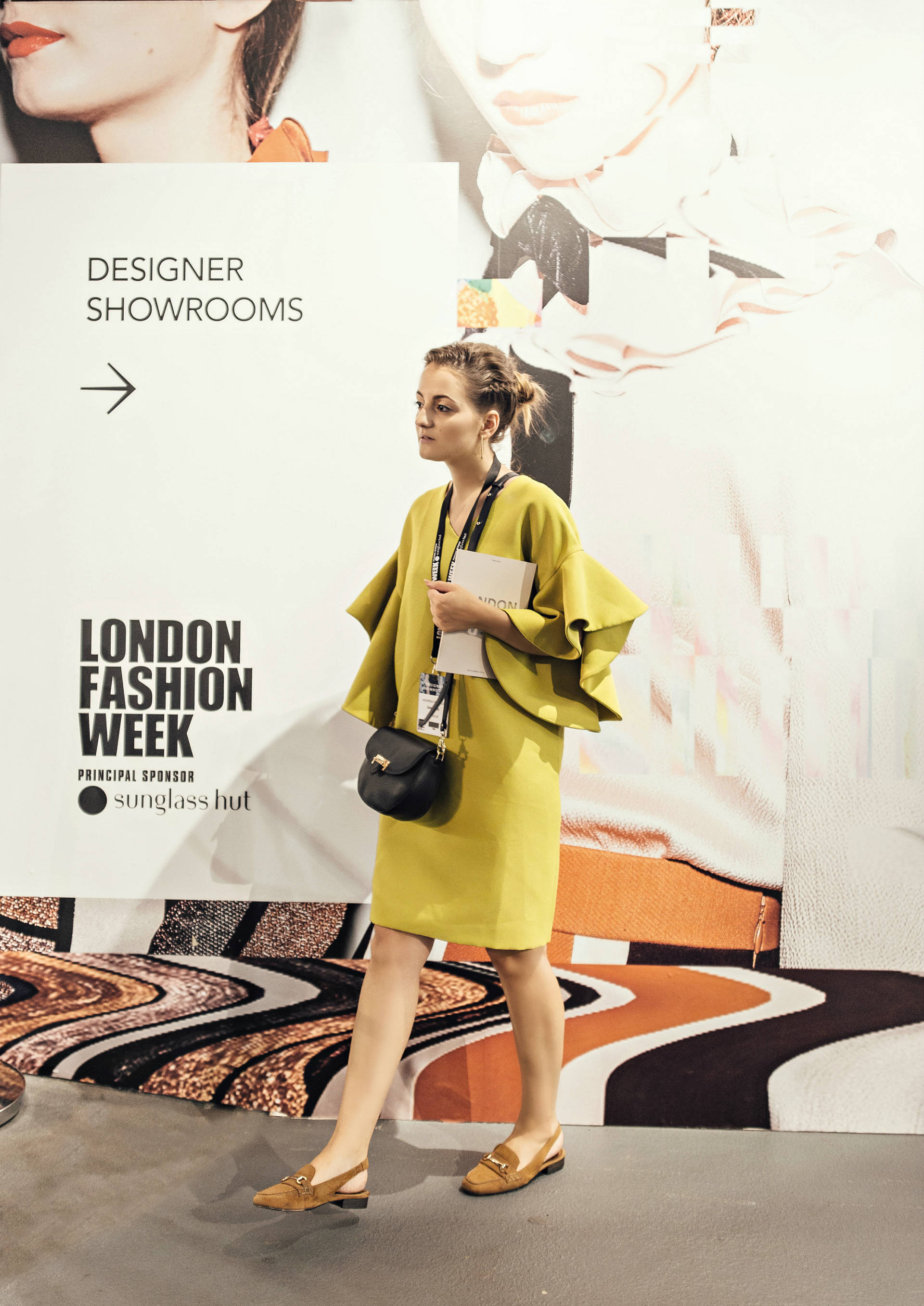 Samsung Serif TV partnership with London Fashion Week