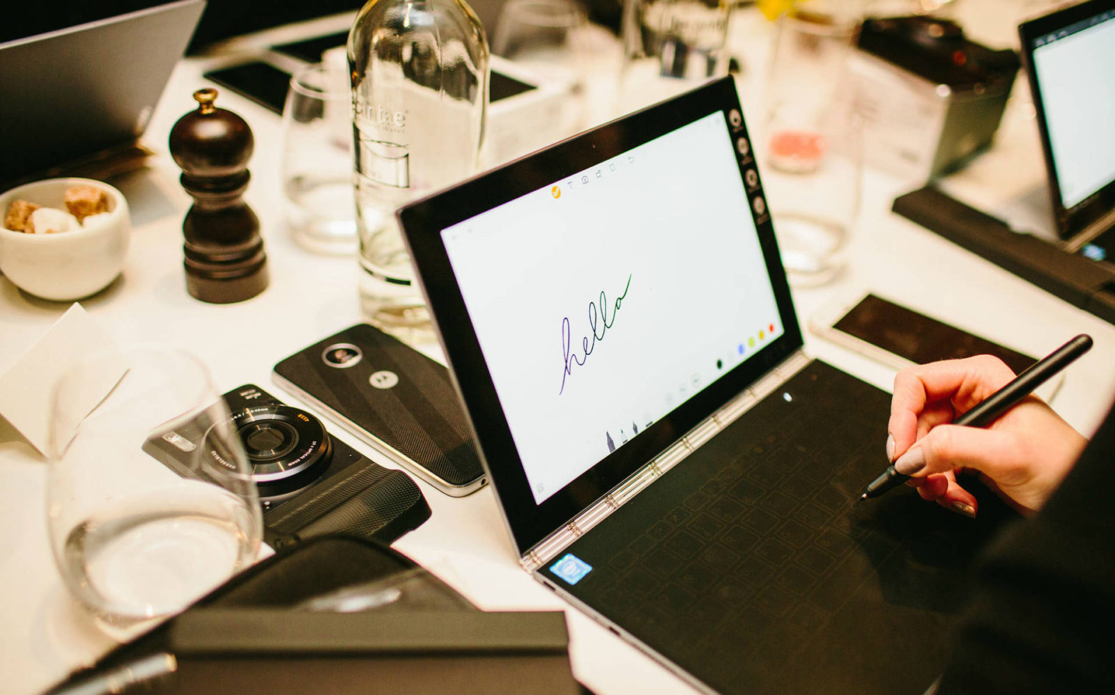 Read all about Lenovo's innovative Yoga Book