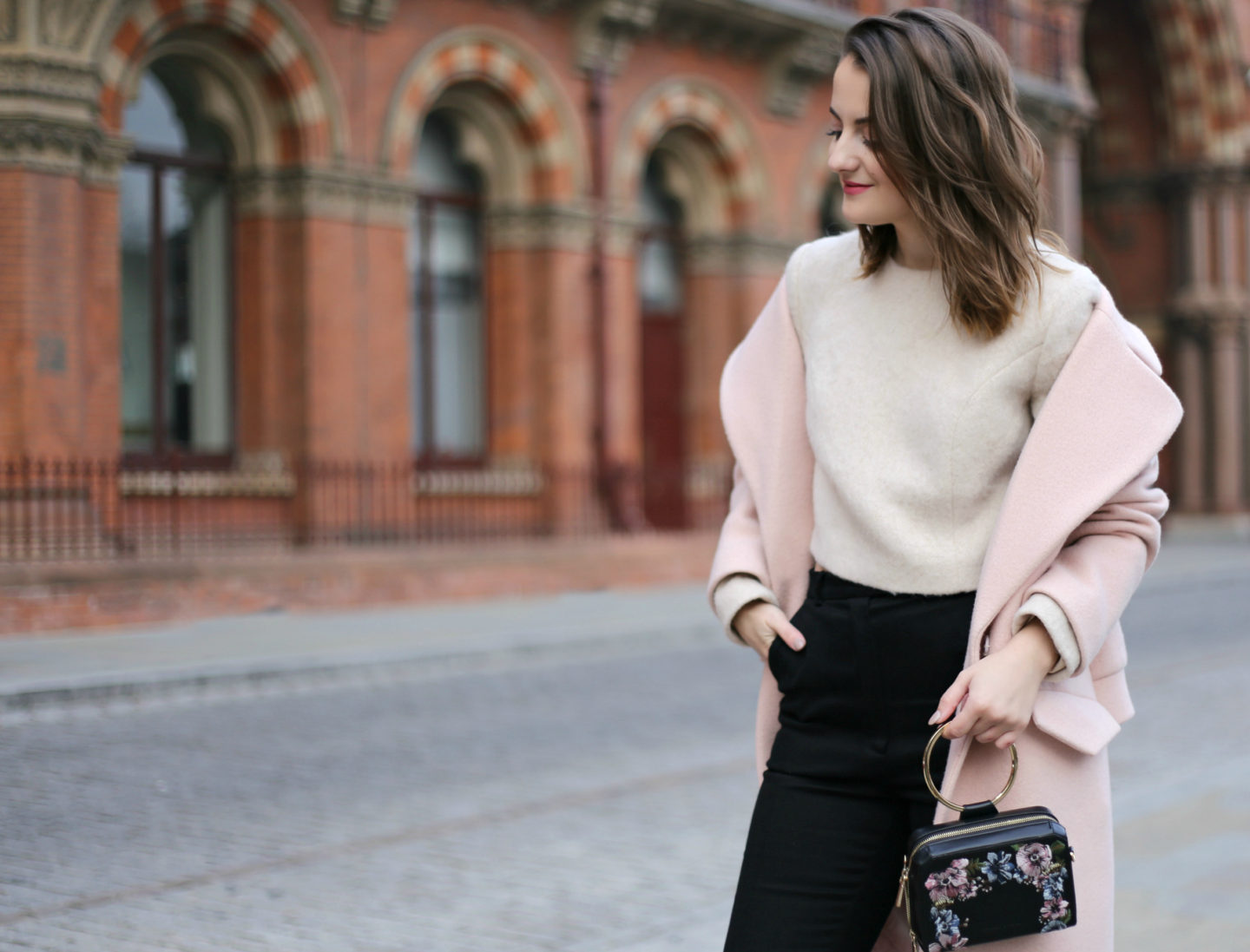 Why investing in a blush pink coat?