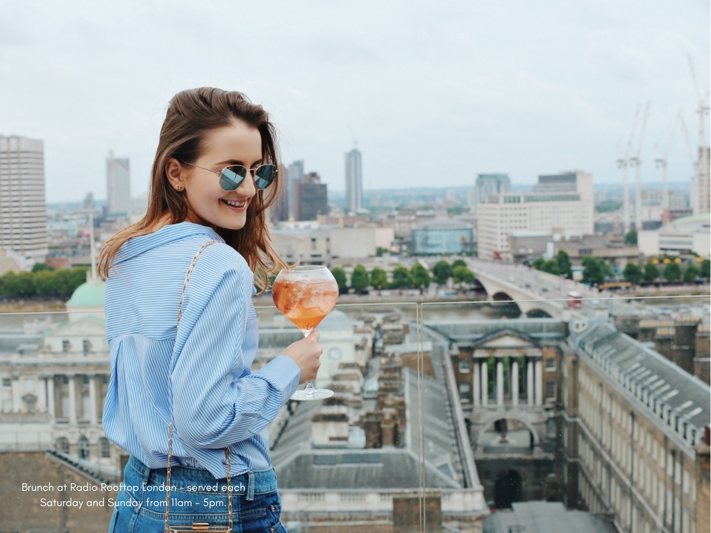 Favourite brunch spot with a view – Radio Rooftop at ME London