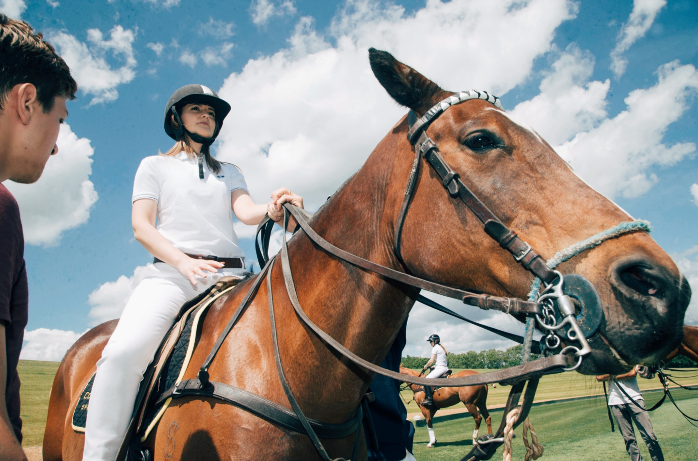 Polo masterclass with Maserati & La Martina