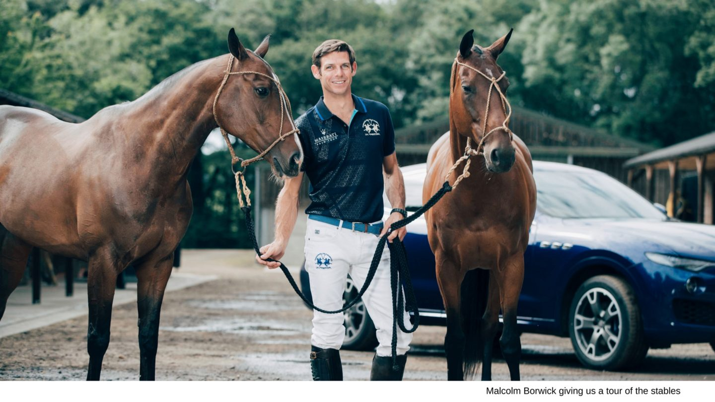 Polo masterclass with Maserati & La Cortina