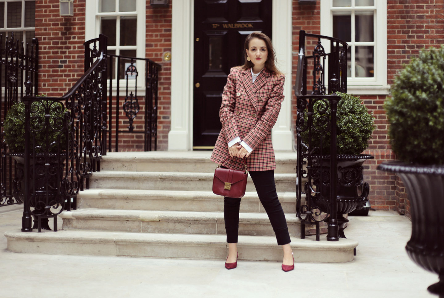Checked blazer trend – how to style it