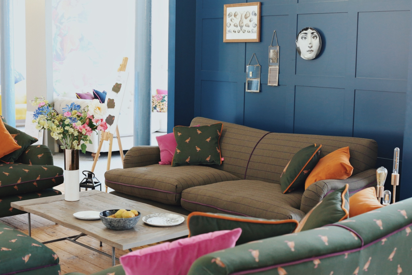 Read all about the exclusive Joules sofa range at DFS
