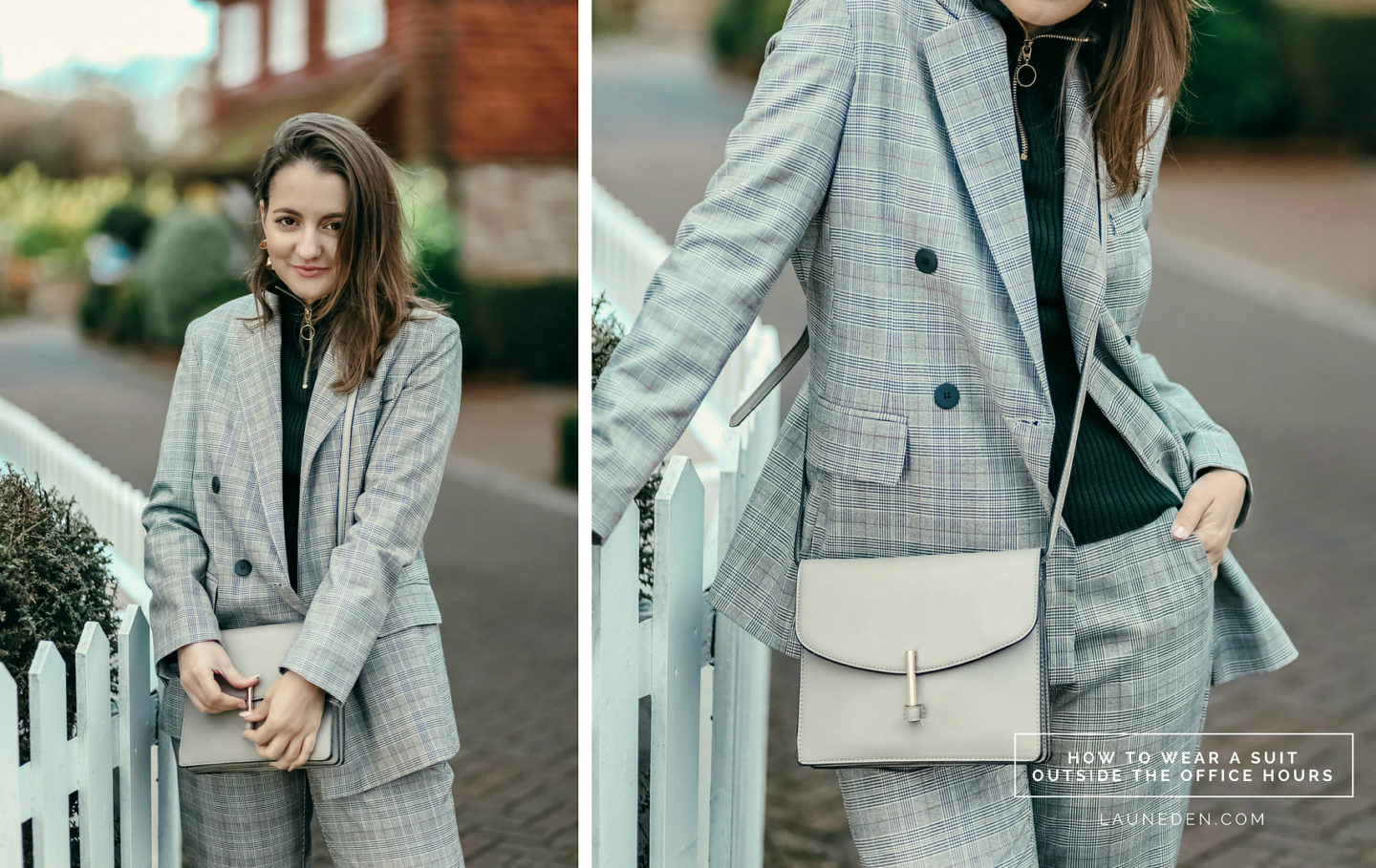 How to wear a suit outside the office hours
